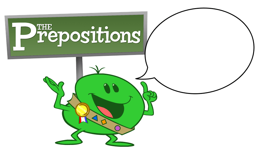 Meet Lil' Pete the preposition